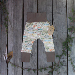 Grow With Me Pants - Little Fishes
