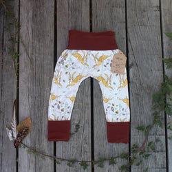 Grow With Me Pants - Hopping Hares