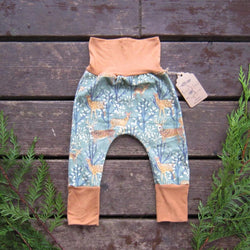 Grow With Me Pants - Spotted Deer