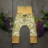 Grow With Me Pants - Honeybees
