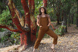 Rooted Jumpsuit - Whisky