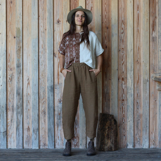 Billow Pants - Bark