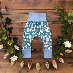 Grow With Me Pants - Forest Floor