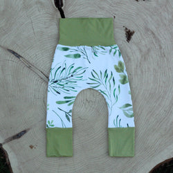 Grow With Me Pants - Botanical Bliss