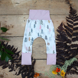 Grow With Me Pants - Cozy Cabins
