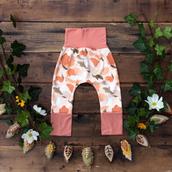 Grow With Me Pants - Autumn Flora