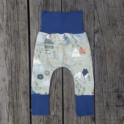 Grow With Me Pants - Adventure Awaits