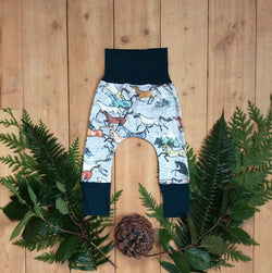 Grow With Me Pants - Wild Horses