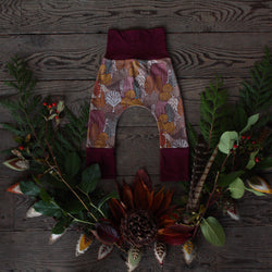 Grow With Me Pants - Autumn Leaves