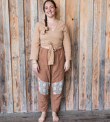 Wrap Top - Fawn