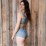 Rooted Swimsuit - Cornflower
