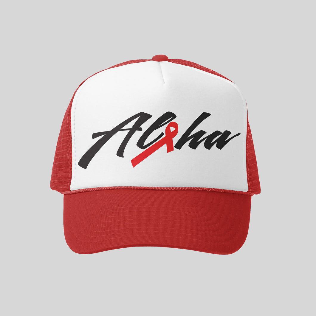 Aloha AIDS Hawaii Hat | Hawaiian Hat
