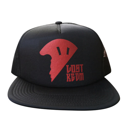 Black Logo Trucker | Hawaii Hat