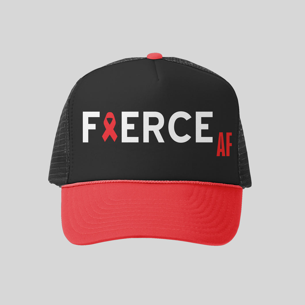 Fierce AF AIDS Hawaii Hat | Hawaiian Hat