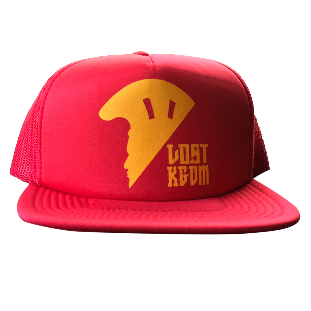 Red Logo Trucker Hawaii Hat | Hawaiian Hat
