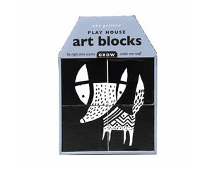 Wee Gallery Play House Art Blocks GROW available at 2 Little Rascals NZ