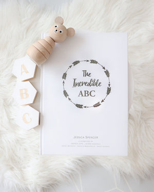 Adored Illustrations The Incredible ABC now at 2 Little Rascals NZ
