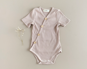 Two Darlings Summer Bodysuit in Musk available at 2 Little Rascals NZ