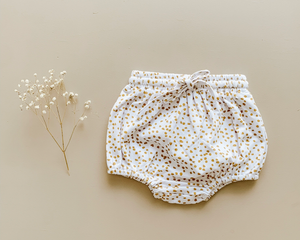 Two Darlings shorties in speckle available at 2 Little Rascals NZ