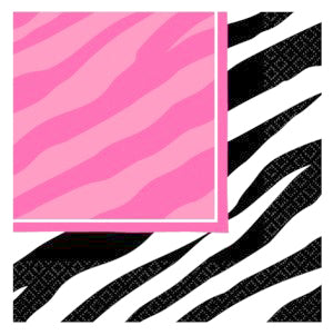Zebra Party - Luncheon Napkins