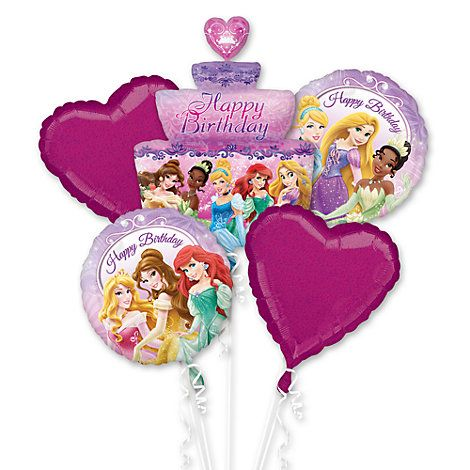 Disney Princess Balloon Cluster