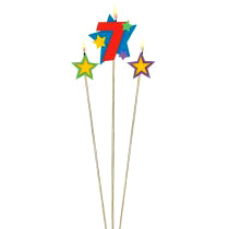 Star Birthday Candle - 7