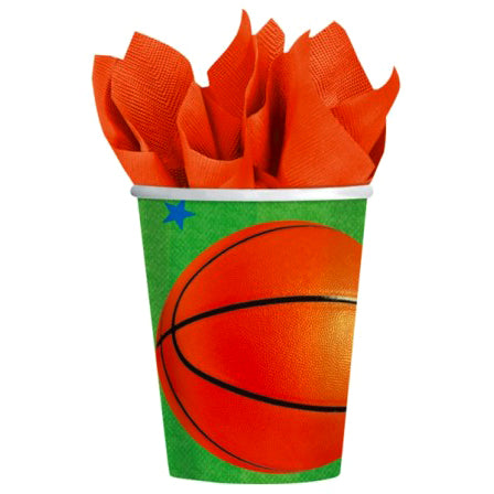 Basketball - Paper Cups