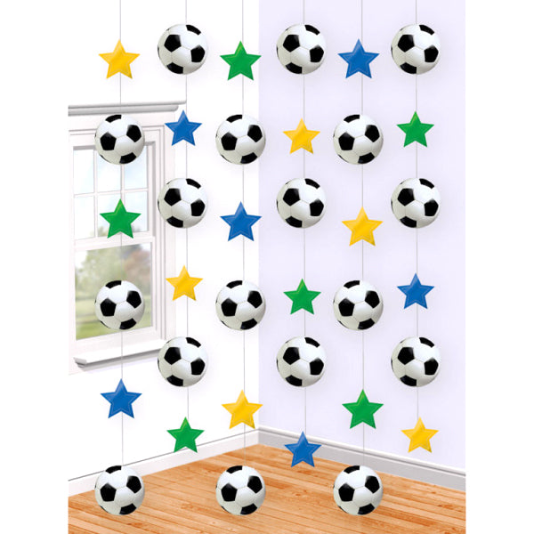 Soccer - String decorations