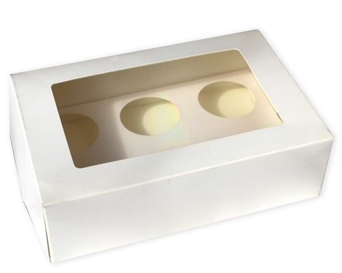 Cupcake Box - 6pc Regular (2per pack)