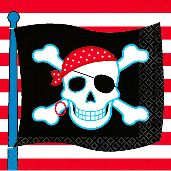 Pirate Party - Beverage Napkin