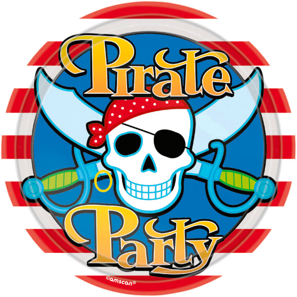 Pirate Party - Paper Plates