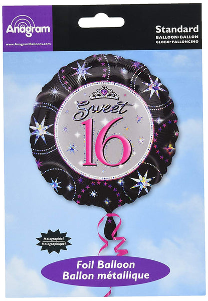Sweet 16 Foil Balloon