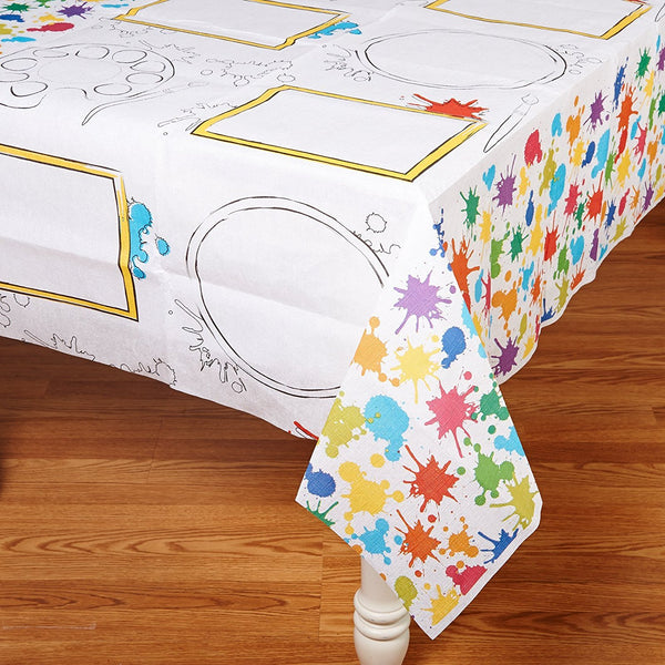 Art Party Activity Table cover