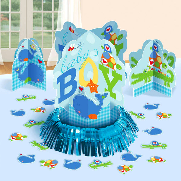 Ahoy Baby Boy Table Decorating Kit