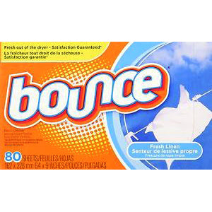 Bounce Fabric Sheets 80ct