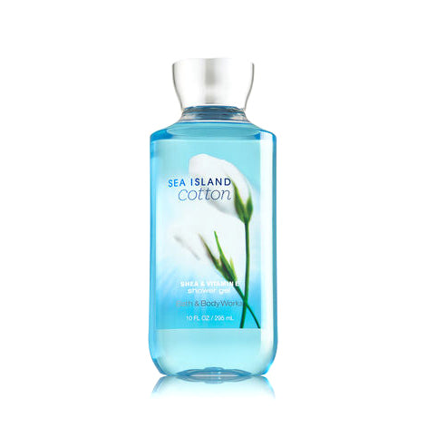 Bath and Body Shower Gel, Sea Island Cotton