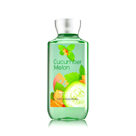 Bath and Body Shower Gel, Cucumber Melon