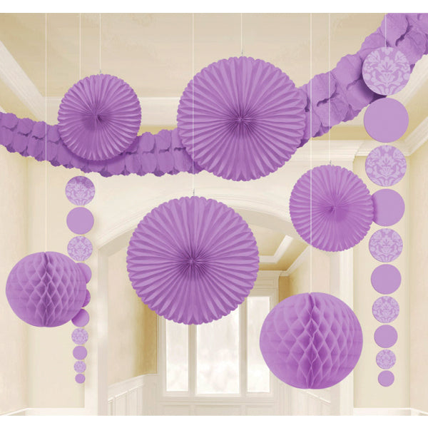 Damask Decorating Kit - Lilac
