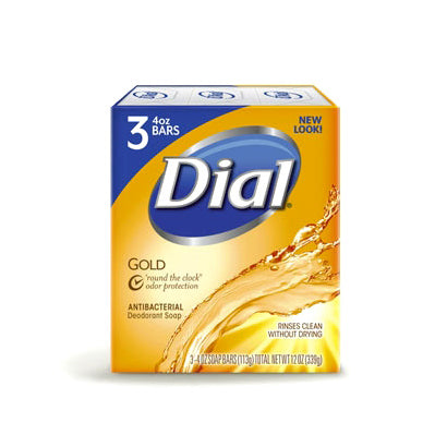 Dial Bar Soap Gold