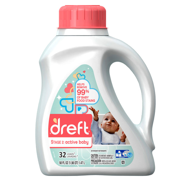 Dreft Laundry Detergent Stage 2
