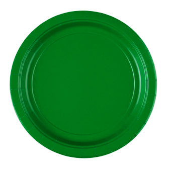 Paper Plate - Festive Green