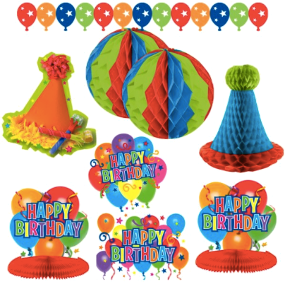 General Birthday Decoration Kit