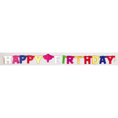 Banner - Happy Birthday