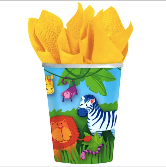 Jungle Animals - Drinking Cups