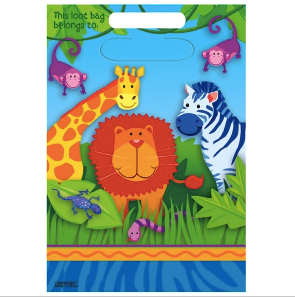 Jungle Animals - Loot Bags