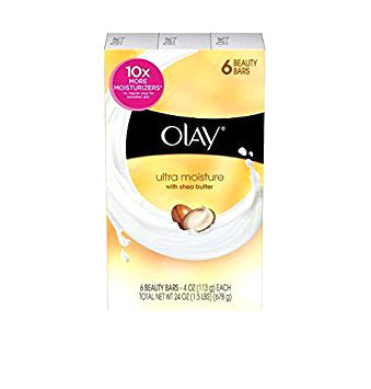 Olay Bar Soap Ultra Moisture 6-Bar