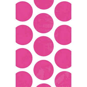 Treat Bags - Polka Dots, Bright Pink