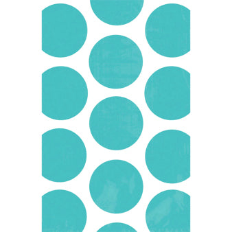 Treat Bags - Polka dots, Robins egg blue