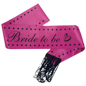 Hen Party Sash with Tassels