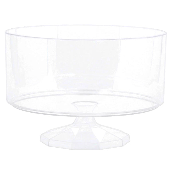 Clear Plastic Trifle Container - Medium